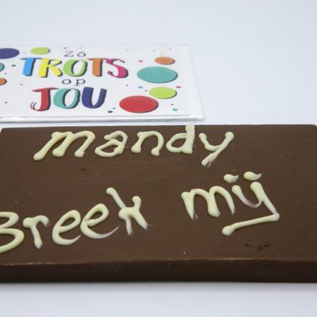 Breek mij chocolade
