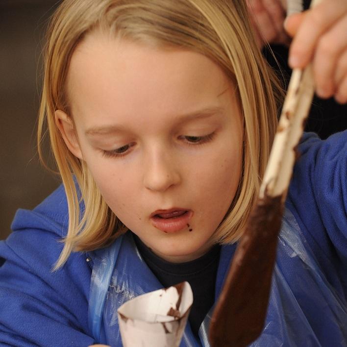 Kinder chocolade workshop