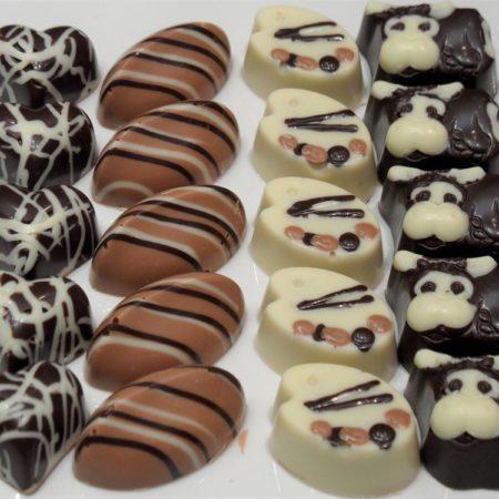 Ganache en karamel bonbons workshop