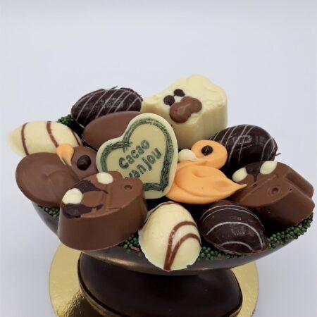 Chocolade paasei normaal
